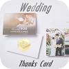 Wedding Thanks Card