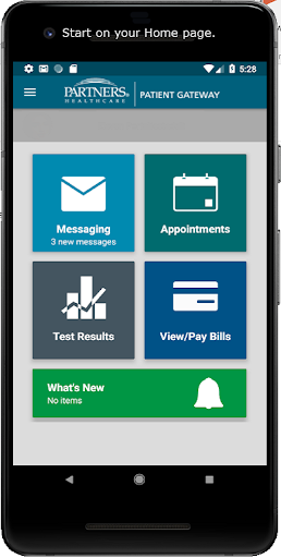 Partners Patient Gateway 3.0.0 screenshots 2