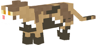 Custom skin for a scene where the character Leafpool is muddy.
