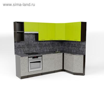 Кухонный гарнитур Анна прайм 5 2300*1500 мм