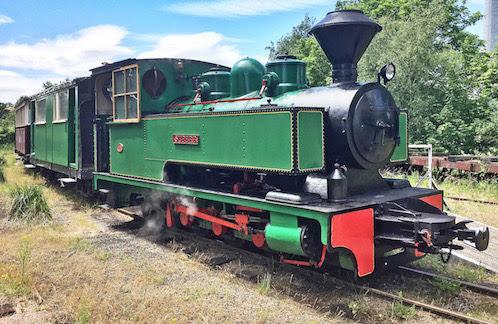 Two locos heading for Llanfair Line