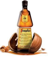 Logo for Frangelico Hazelnut Liqueur