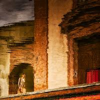 Andando alla messa .... a Comacchio di