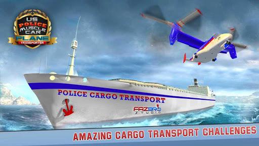 US Police Muscle Car Cargo Plane Flight Simulator 2.0.3 {cheat|hack|gameplay|apk mod|resources generator} 3