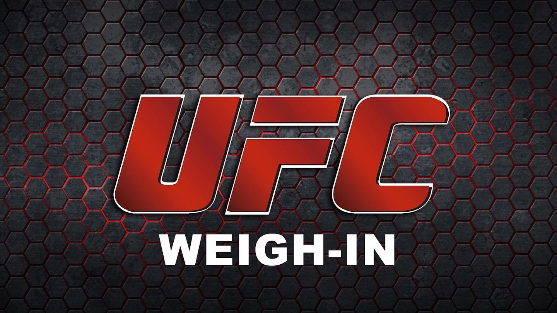 UFC Weigh-In