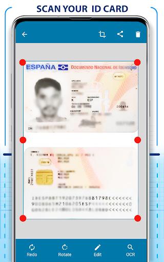 PDF Scanner - Scan documents, photos, ID, passport screenshots 2