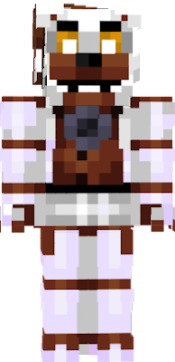 'Diner Freddy', aka fixed Molten Freddy. Skin format recommended is the 'Steve' one. Skin colour scheme provided by iCandyCadet's Molten Freddy skin. Skin edit made by iExoticButters.