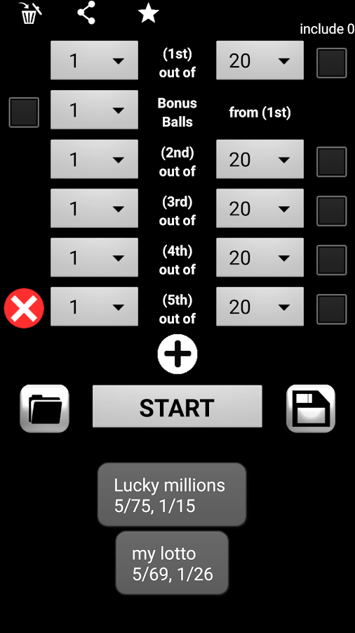 Lotto Draw Machine- screenshot