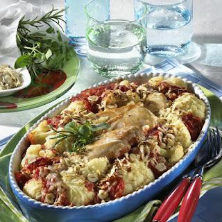Cauliflower and Chicken Casserole.
