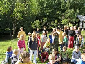 Photo: První seznámení s táborem