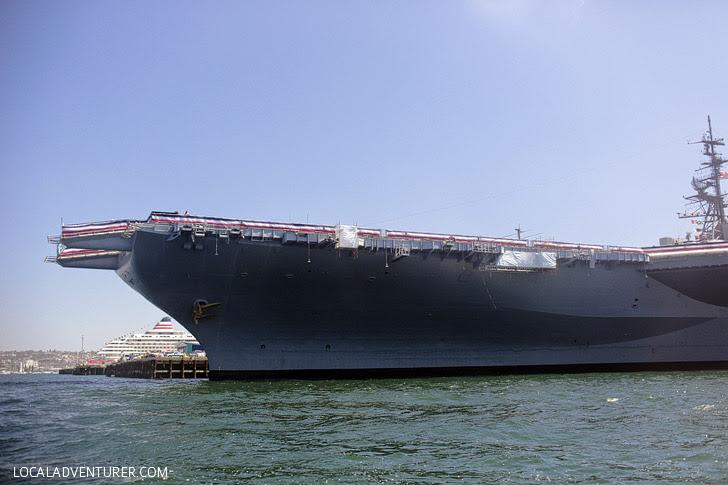 USS Midway Museum - Jet Ski San Diego.