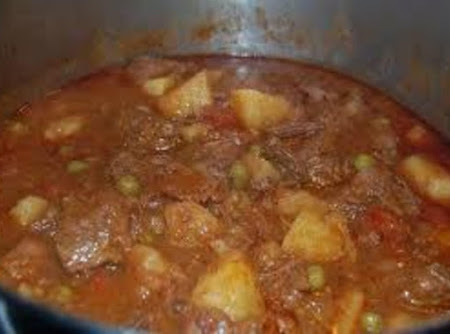 Crock Pot Carne Guisada (Mexican Beef Stew) Recipe