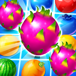 Dragon Fruits: Match 3 Adventure Icon