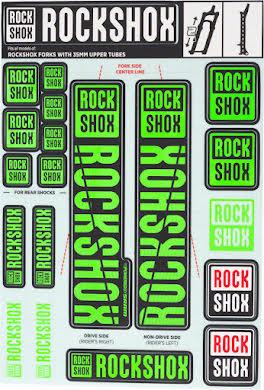 RockShox Decal Kit, 35mm alternate image 3