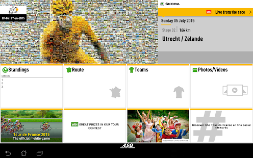 TOUR DE FRANCE 2015 by ŠKODA- screenshot thumbnail