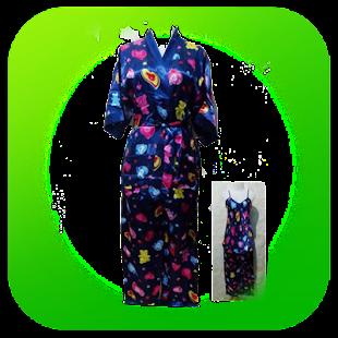 kimono noční košile - náhled
