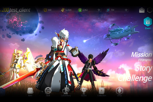 Elsword M Shadow of Luna 1.0.1 screenshots 23