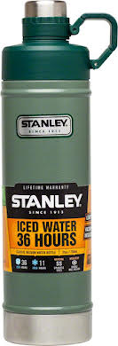 Stanley Vacuum Water Bottle: Hammertone Green, 25oz