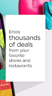 RetailMeNot Coupons, Discounts- screenshot thumbnail