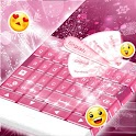 Pink Christmas GO Keyboard icon
