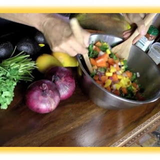 How to Make Avocado Tropical Salsa