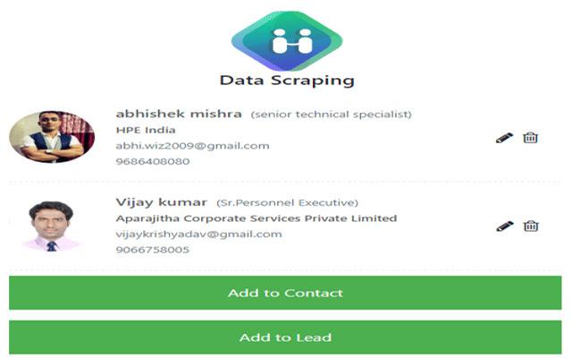 Data Scraping