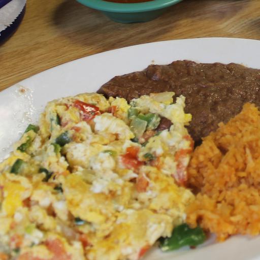 Huevos A La Mexicana Plate