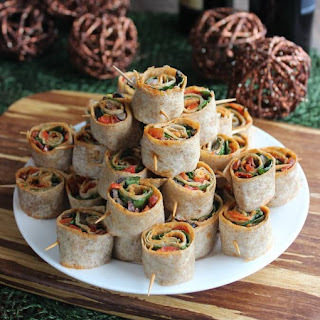 Delicious Party Food – Spicy Tortilla Rollups
