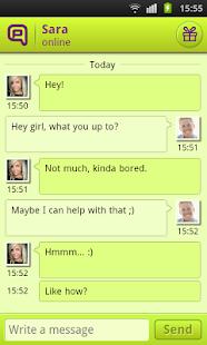 Qeep - Chat, Flirt, Friends - screenshot thumbnail