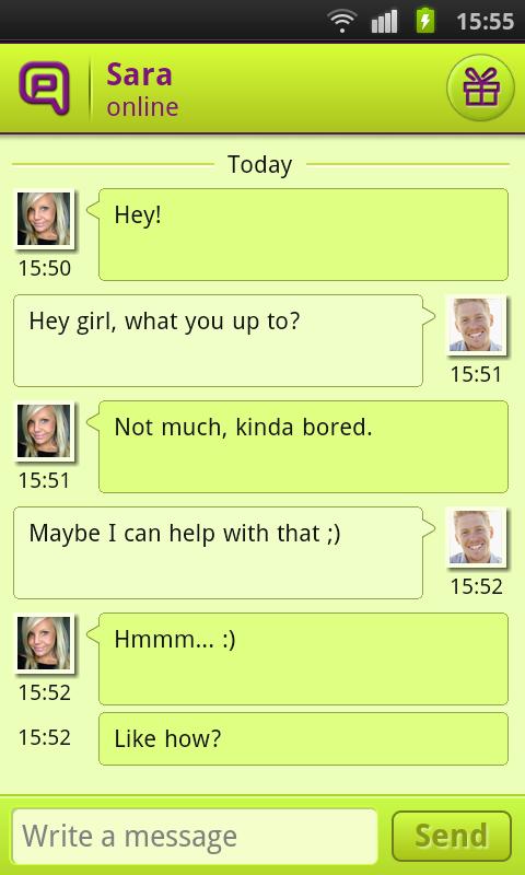 Qeep - Chat, Flirt, Friends - screenshot