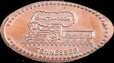 Photo: Chattanooga Choo Choo penny