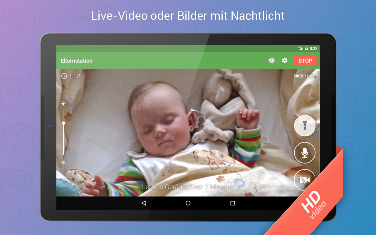 babyphone 3g android apps auf google play. Black Bedroom Furniture Sets. Home Design Ideas