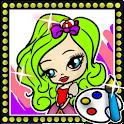 Pretty Princess Coloring Brat icon