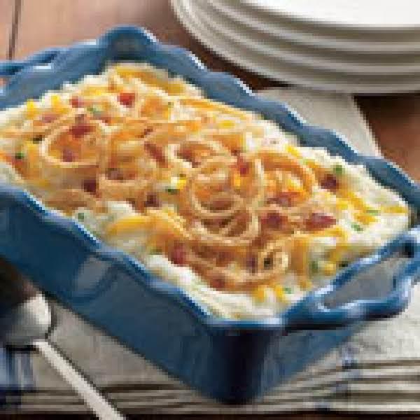 Chessy Mashed Potato Casserole Recipe