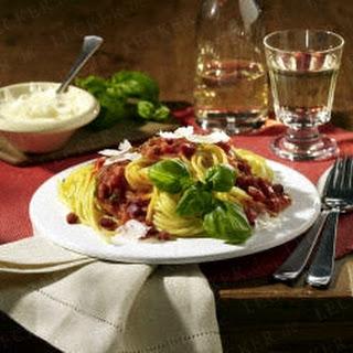 Spaghetti All Amatriciana Recipe