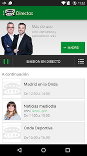 Onda Cero Radio- screenshot thumbnail