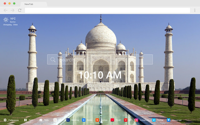 Dome New Tab Page HD Wallpapers Themes