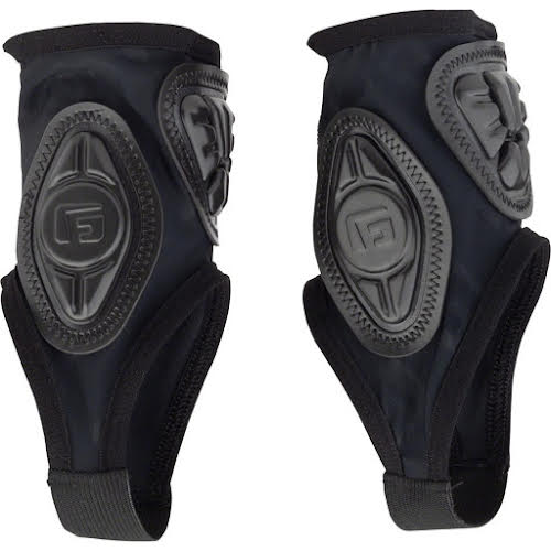 G-Form Pro-X Ankle Guards: Black Embossed