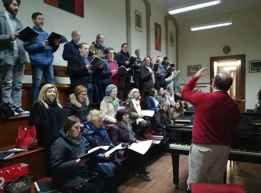 Coro da Misericórdia de Lamego em formação na Universidade Católica