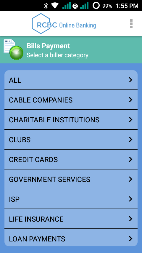 how to add account in rcbc online
