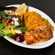 Grilled Salmon  Platter