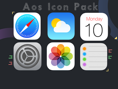 Aos Icon Pack - Sale Screenshot