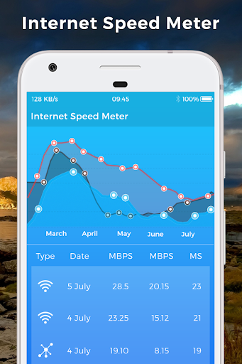 Internet Speed 4g Fast 2.5 screenshots 2