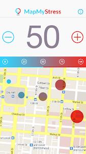 Map My Stress screenshot 0