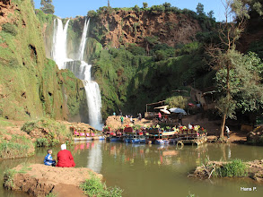 Photo: Ausflugsvergnügen am Wasserfall