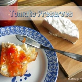 Tomato Preserves.