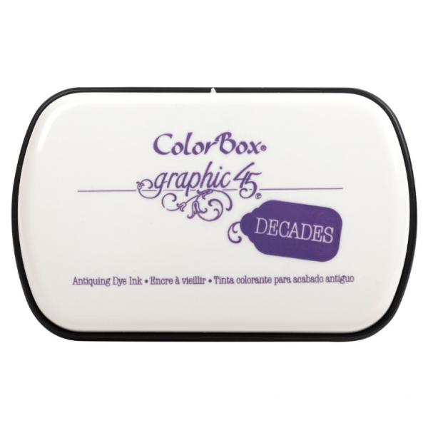 Clearsnap Decades Dye Pad Purple Royalty