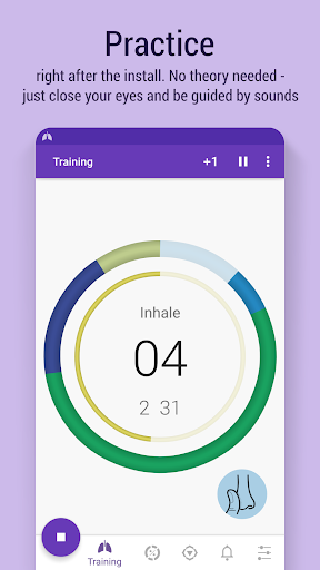 Prana Breath: Calm & Meditate Fitness app screenshot 1 for Android