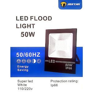 Proiector LED lumina alb rece, unghi 120 grade, Jortan