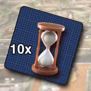 Hourglass tokens (10)